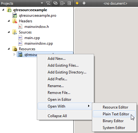 How to embed an icon in a Qt application